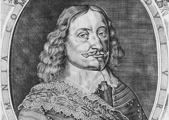 The portrait of Duke Jacob Kettler