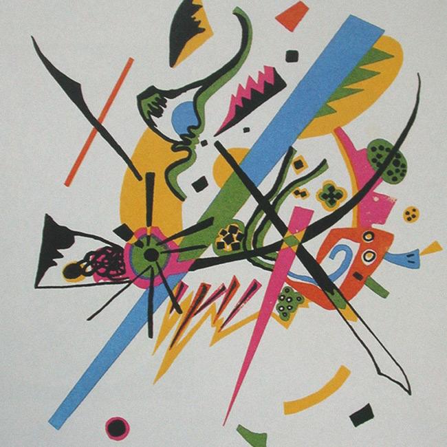 Vasily Kandinsky (Small Worlds I)