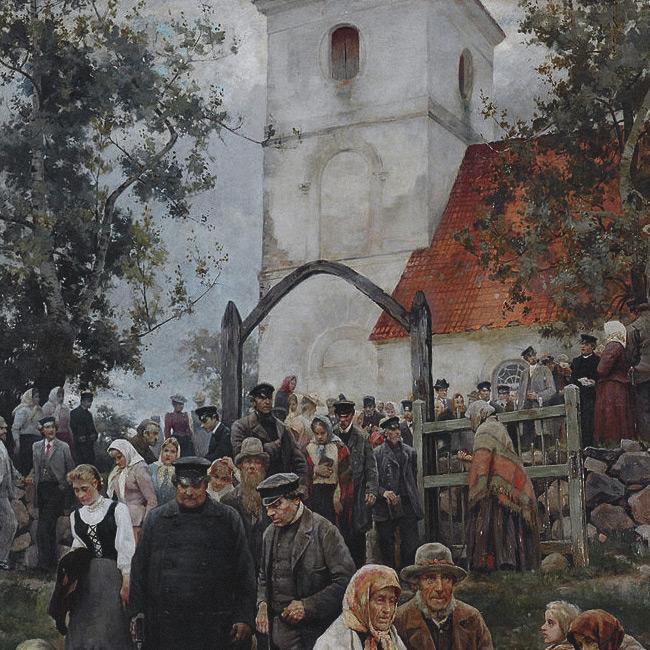 Jānis Rozentāls - No Baznīcas