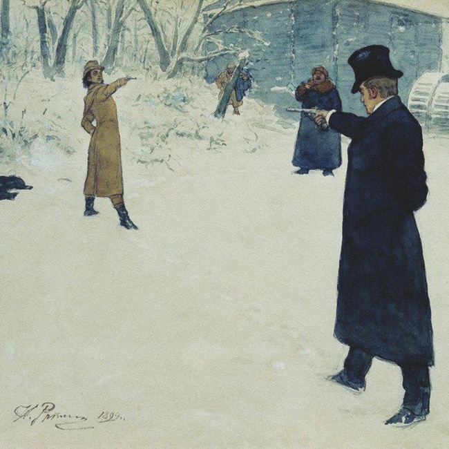The Anatomy & Rules of the Russian duel